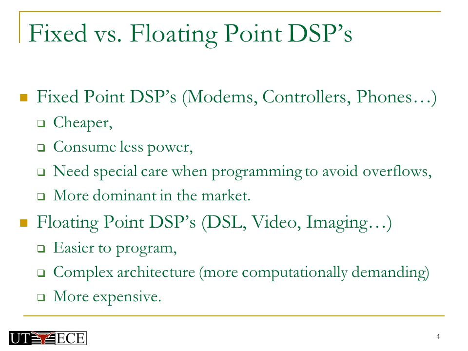 EE 345S Real-Time Digital Signal Processing Lab Fall ppt video