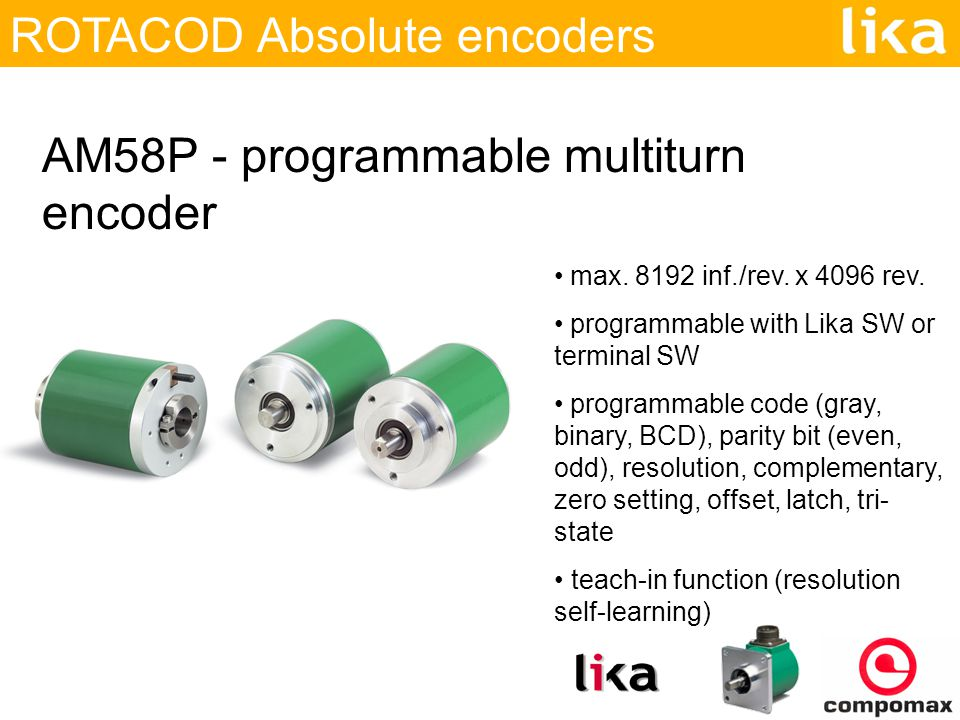 ROTACOD Absolute Encoder - ppt video online download