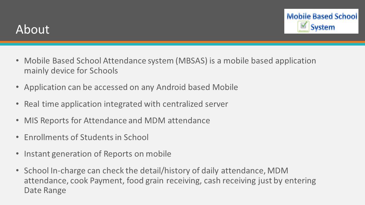 Mobile Based School Attendance System - ppt video online