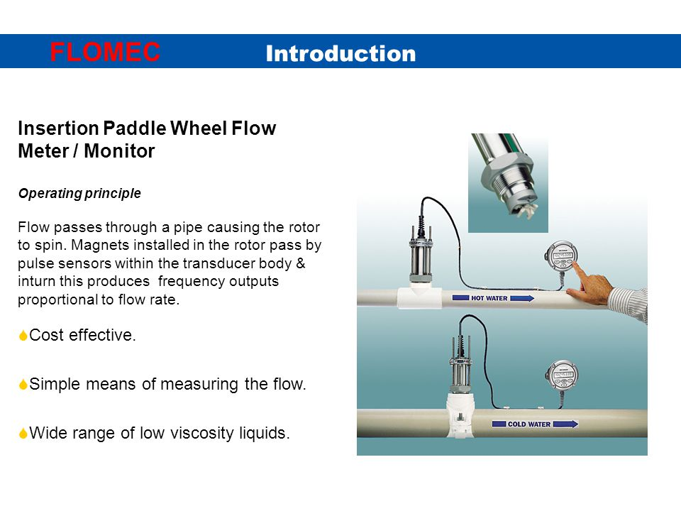 Insertion Paddle Wheel - ppt video online download