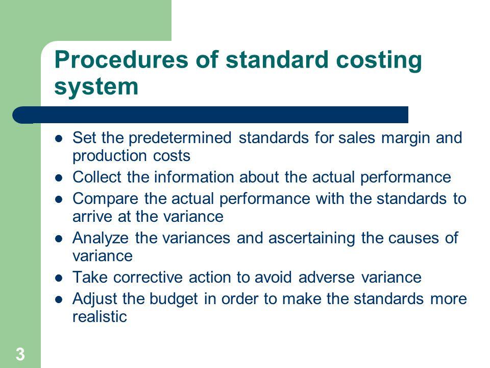 Standard costing  - ppt video online download