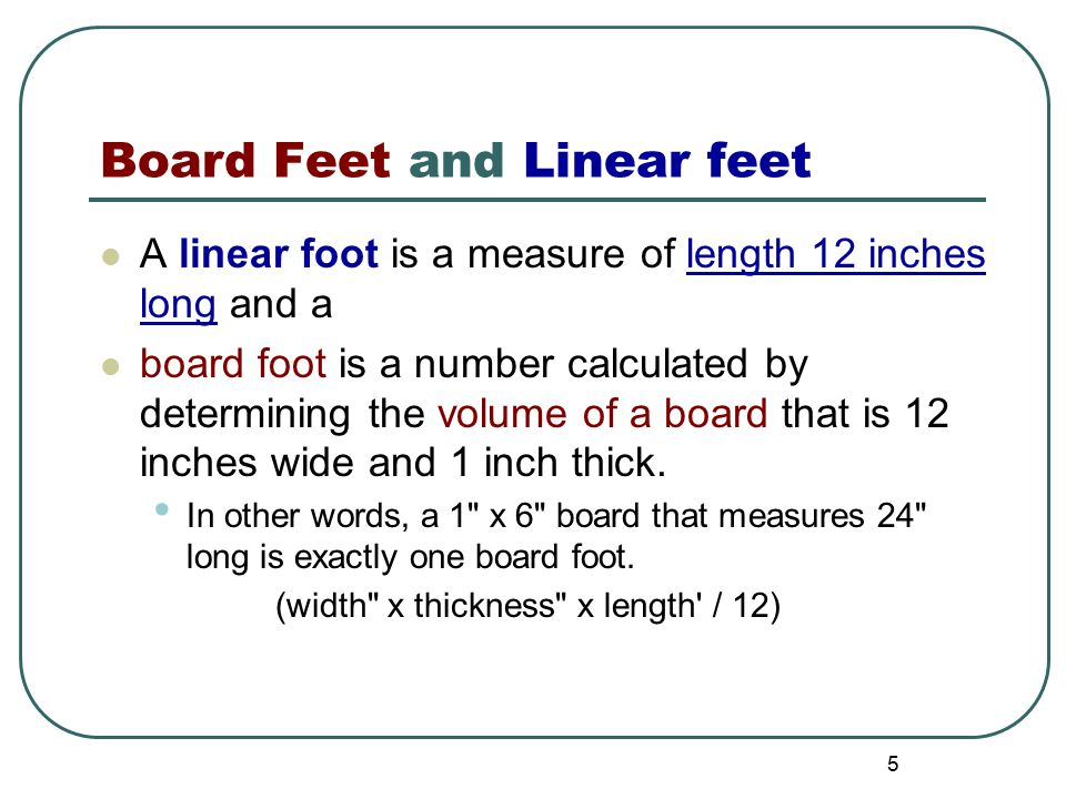 how to measure a linear foot for kitchen cabinets calculating board linear square ppt 17142