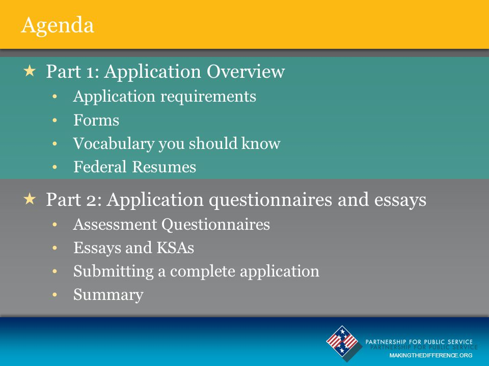 Mastering the Federal Application Process - ppt download