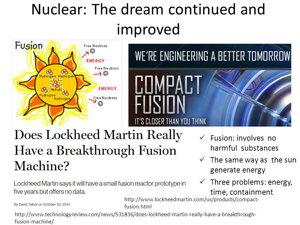 Nuclear: The dream continued and improved