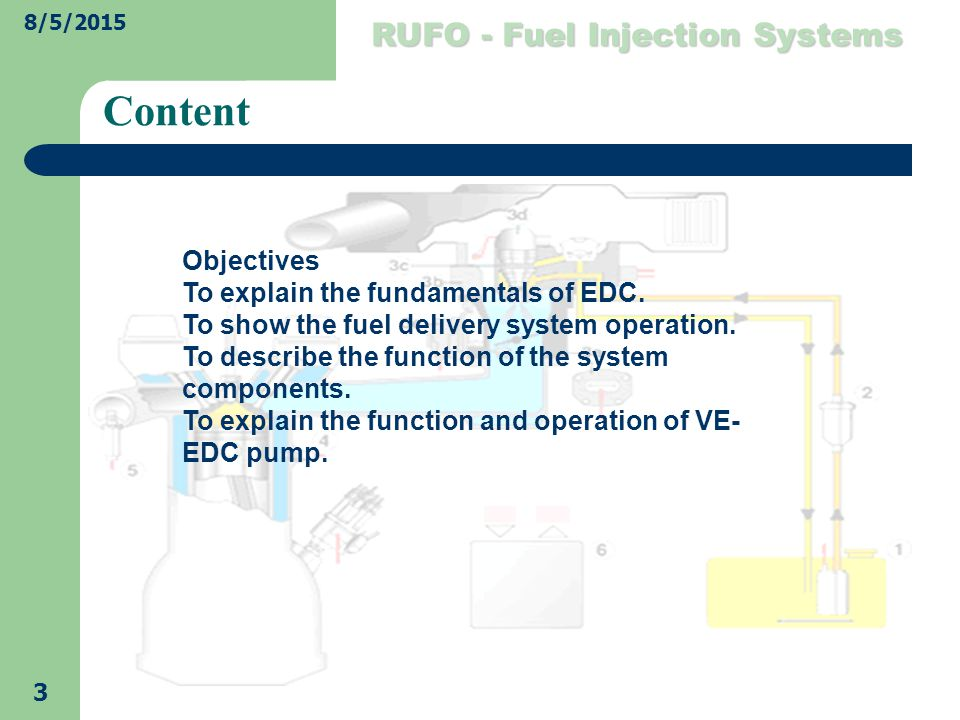 Electronic Diesel Control - ppt video online download