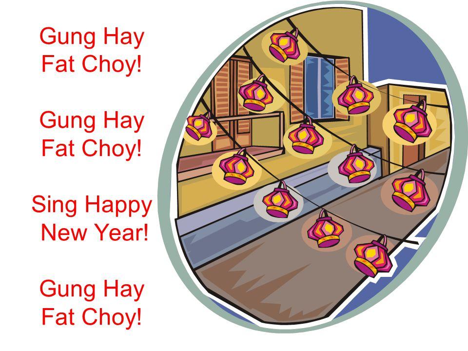 sing happy new year