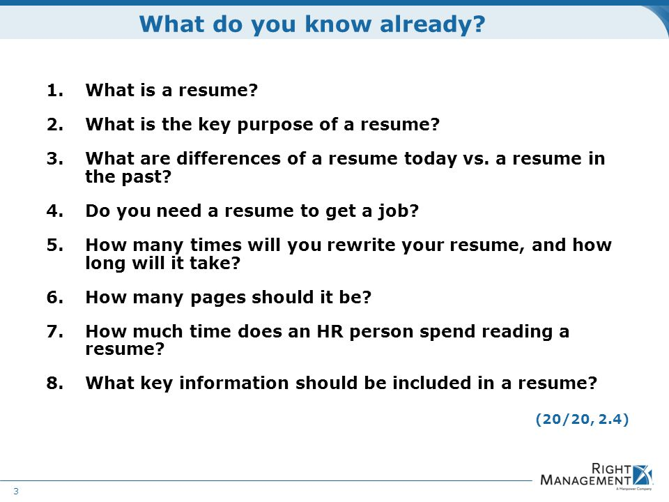 Resume Development WELCOME Materials Guidelines Worksheets