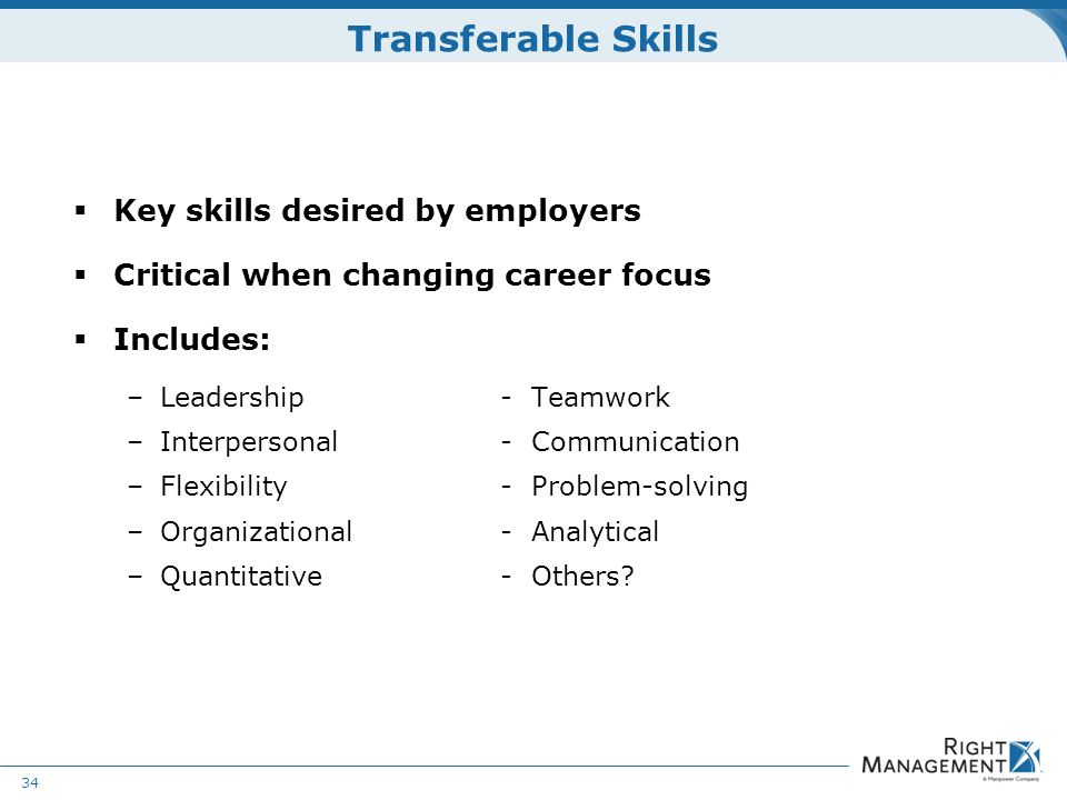 skills desired by employers