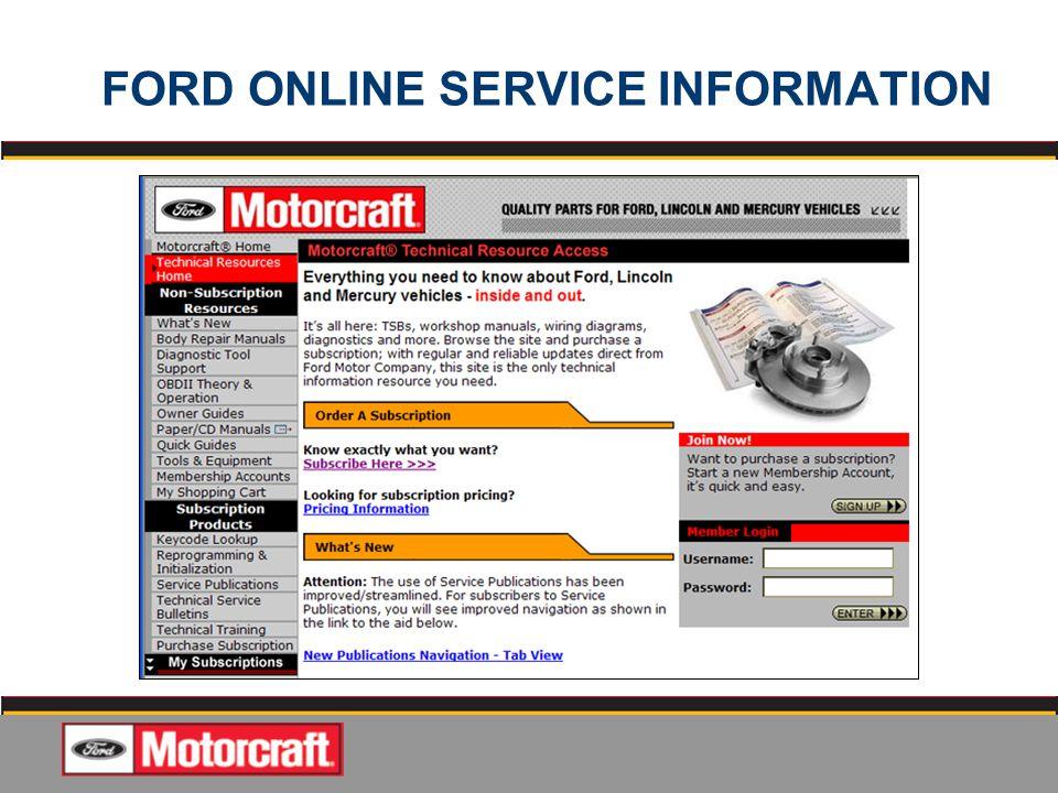 motorcraft service discount code