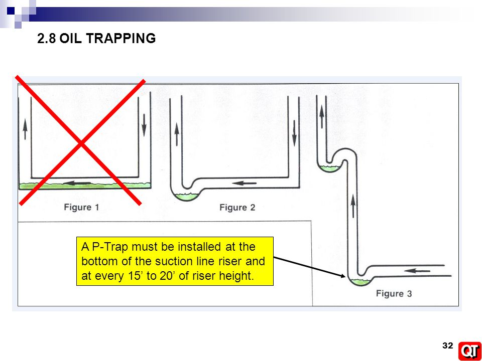 Refrigerant Piping Oil Trap Schematics Wiring Diagram For Light