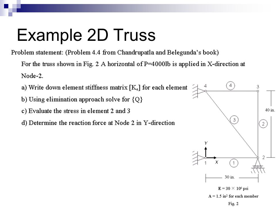 Finite Element Analysis - ppt video online download