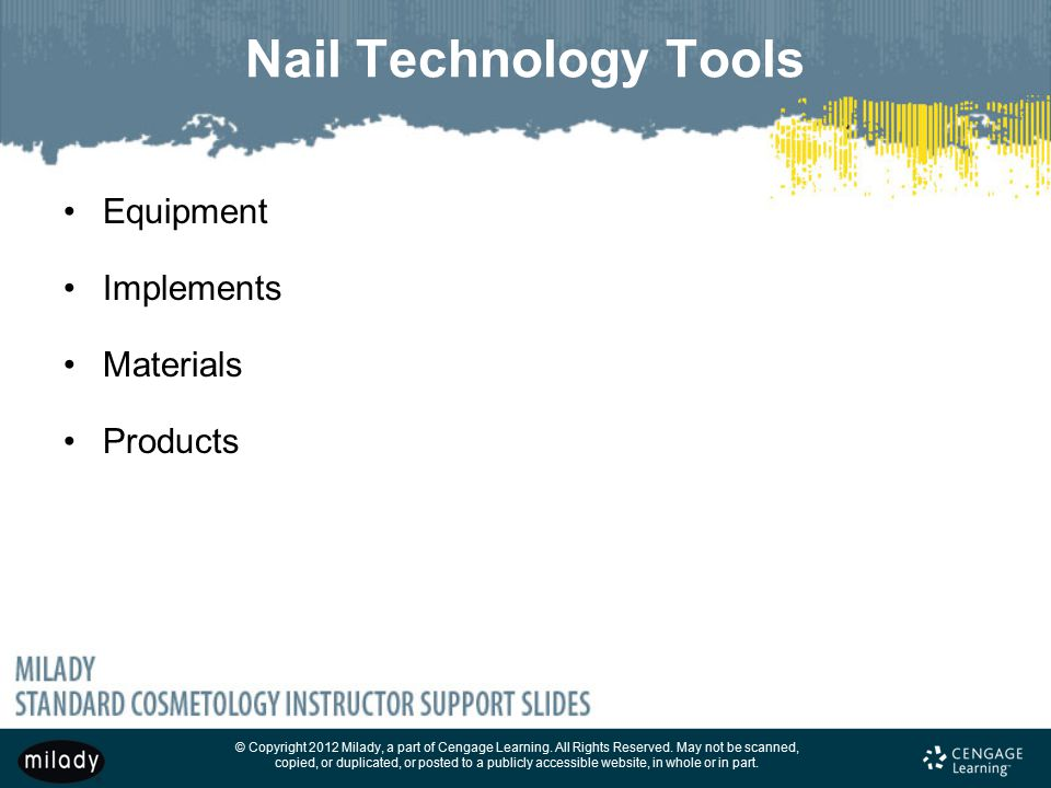 6 Nail Technology Tools Equipment