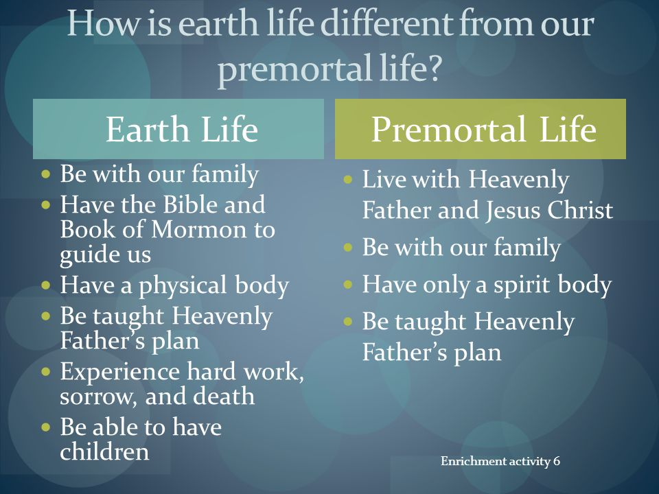 Heavenly Fathers Plan For Us Ppt Download