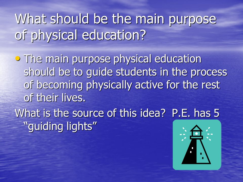 what is the main purpose of education