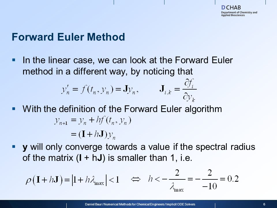 Ordinary Differential Equations (ODEs) - ppt download