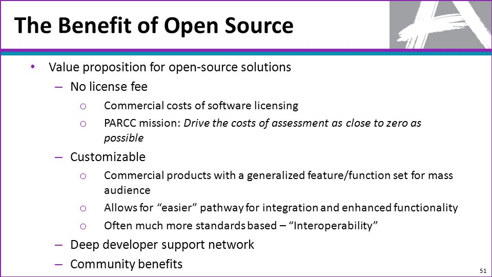 Open Source Solution For Successful Assessment Programs