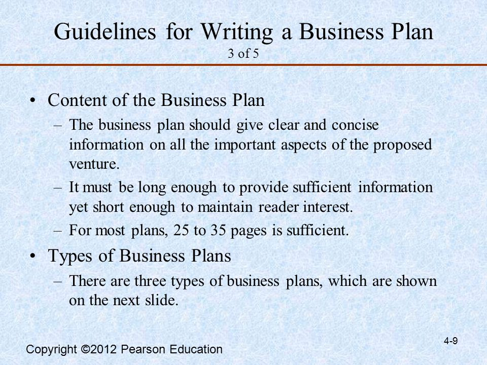 why is it important to write a business plan