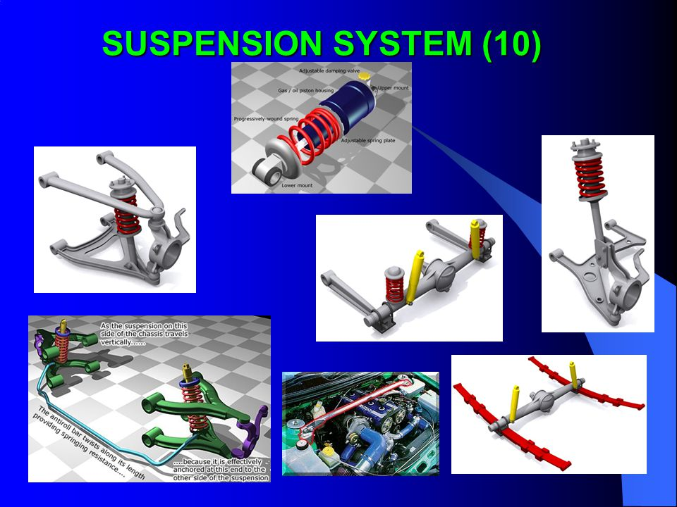 SUSPENSION SYSTEM (10)