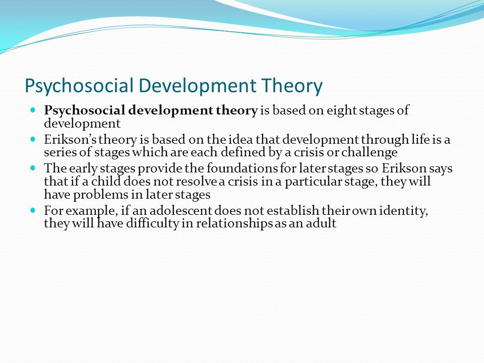 eight developmental stages by santrock