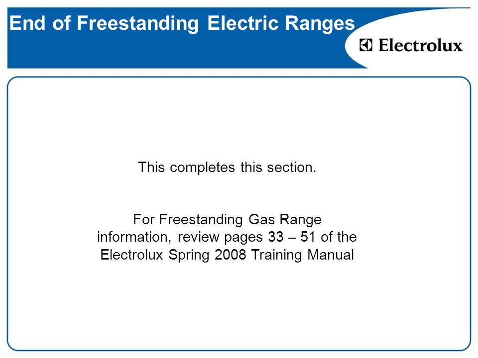Electric Range Ppt Download