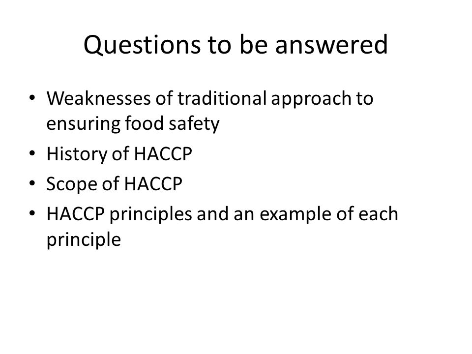 Haccp Quiz Test Answers – Wonderful Image Gallery