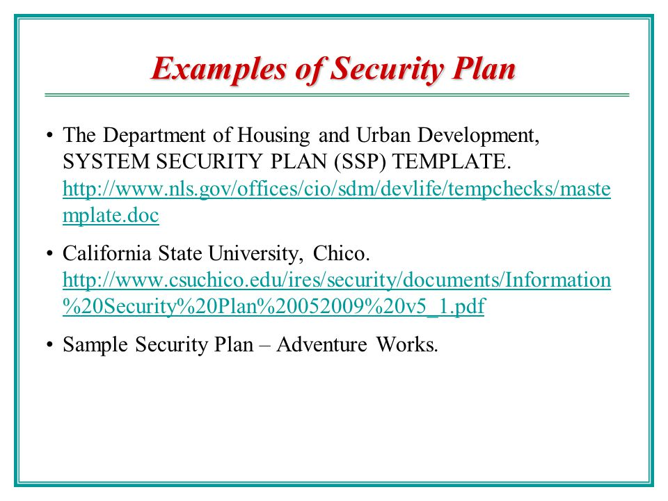 Security organization ppt video online download examples of security plan maxwellsz