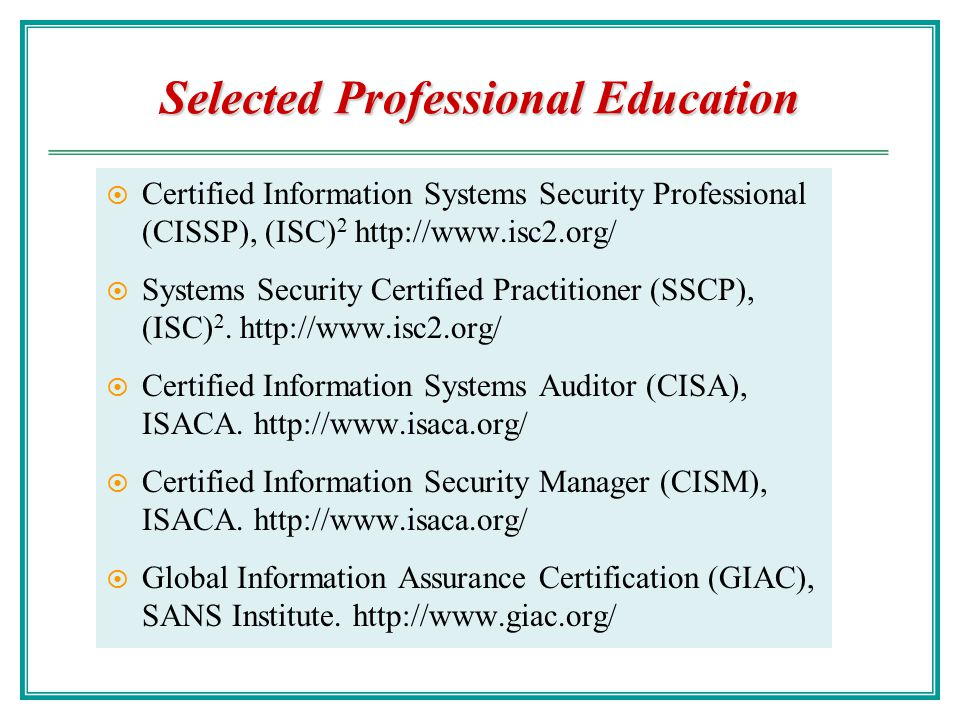 Security Organization - ppt video online download