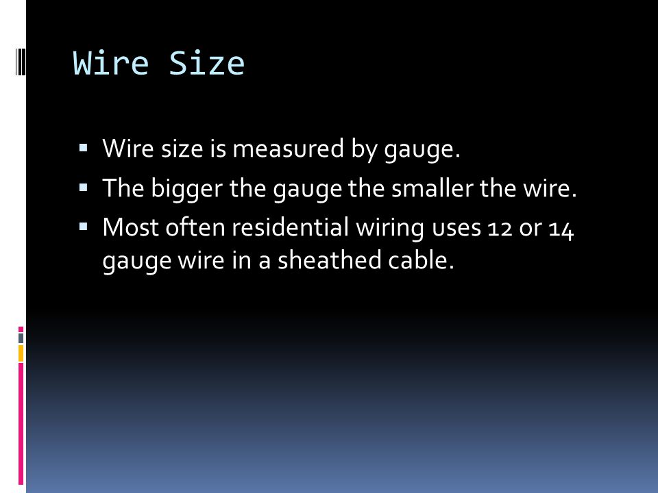 Fancy 12 Gauge Wire Size Image Collection - Electrical and Wiring ...