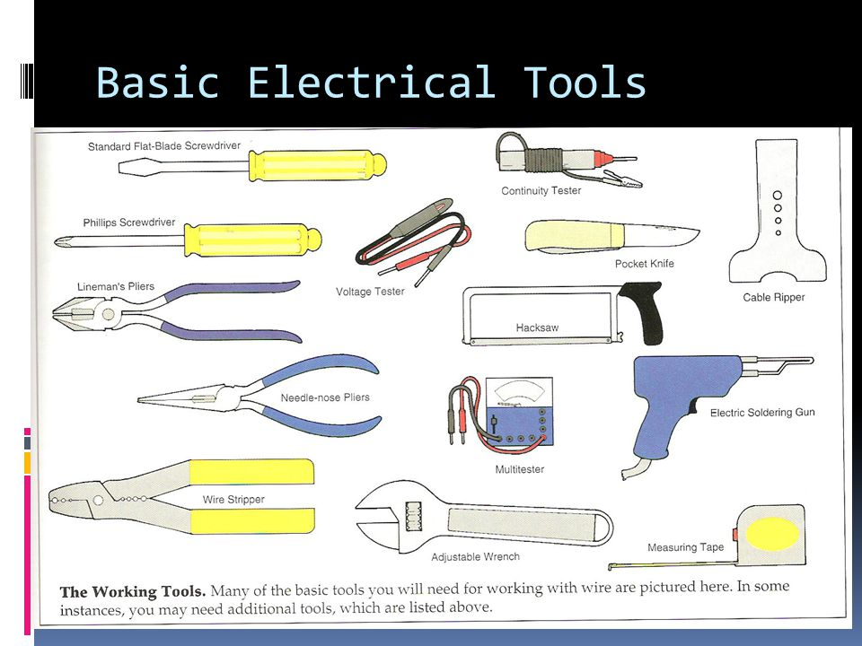 electrical theory skilled trades ppt video online download Basic Electricity Exam Questions 2 basic electrical tools