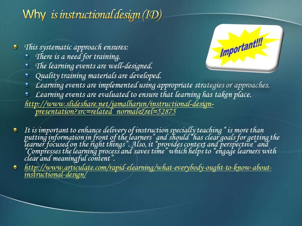 Tutorial Of Instructional Design Ppt Download