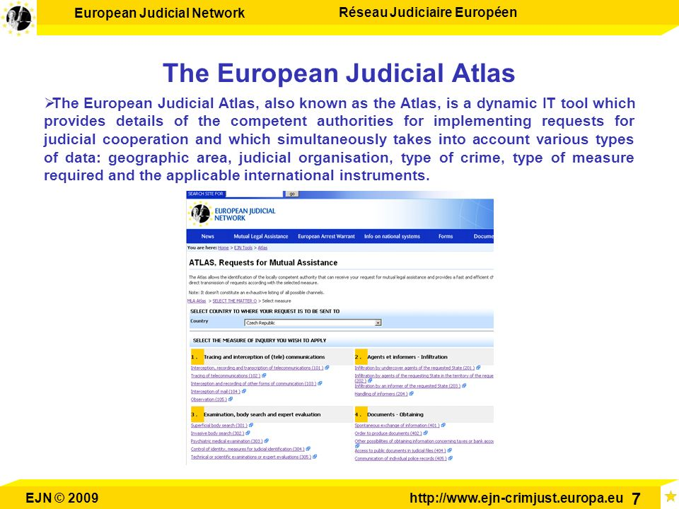 The European Judicial Atlas
