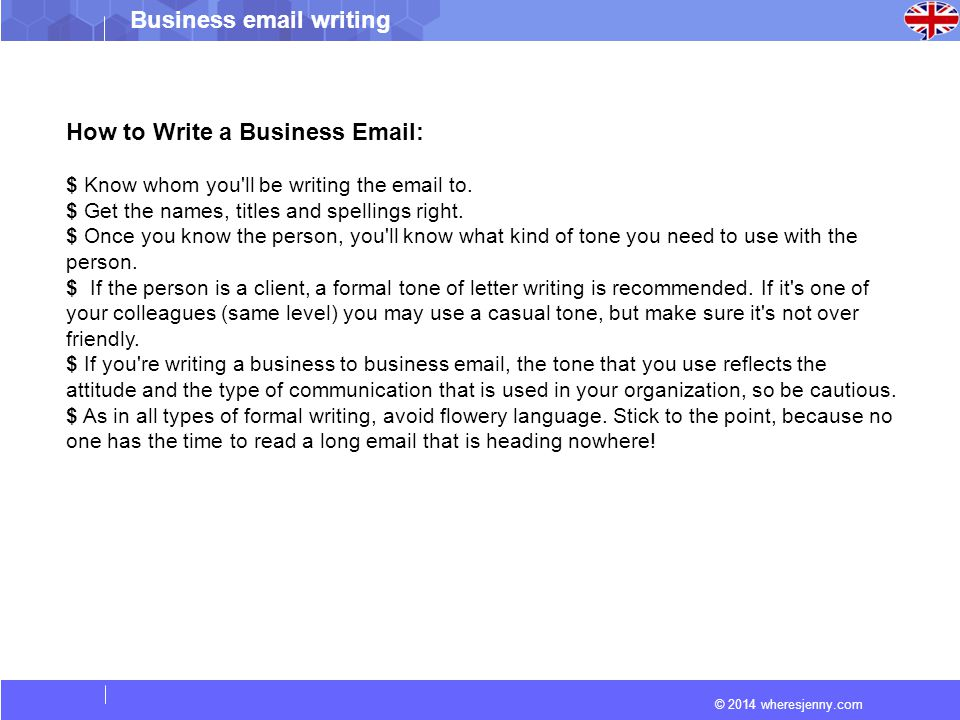 How to write a business ppt video online download 2 how to write a business email altavistaventures Choice Image