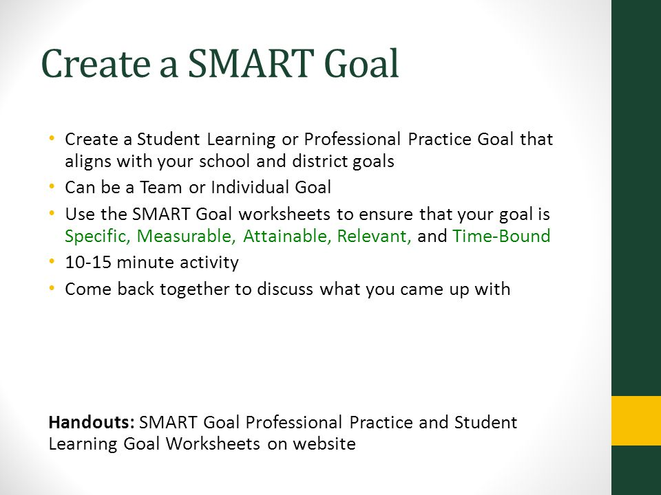 SMART Goals. - ppt video online download