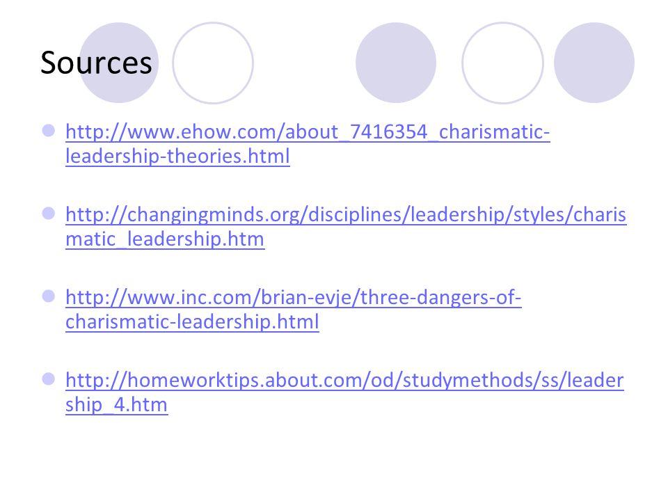 dangers of charismatic leadership