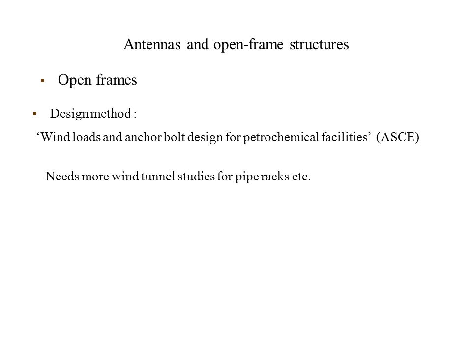 Antennas and open-frame structures - ppt download