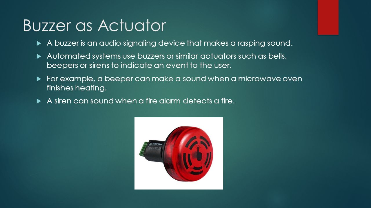Actuators Amp Their Applications Ppt Video Online Download
