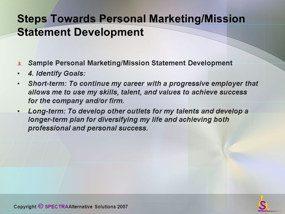 Developing A Marketingmission Statement What Do You Have To Offer