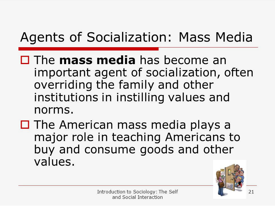 agents of socialization in sociology