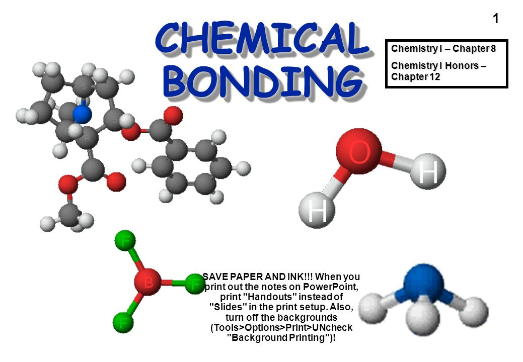CHEMICAL BONDING Cocaine Chemistry I – Chapter 8 - ppt download