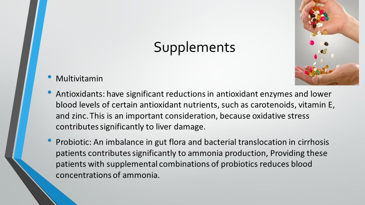 Supplements Multivitamin