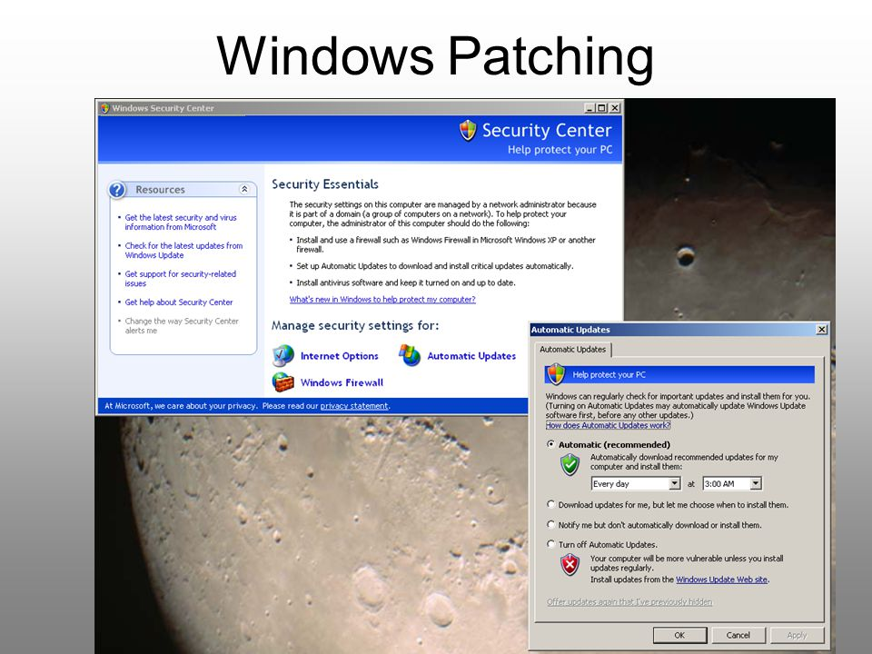 Windows Patching