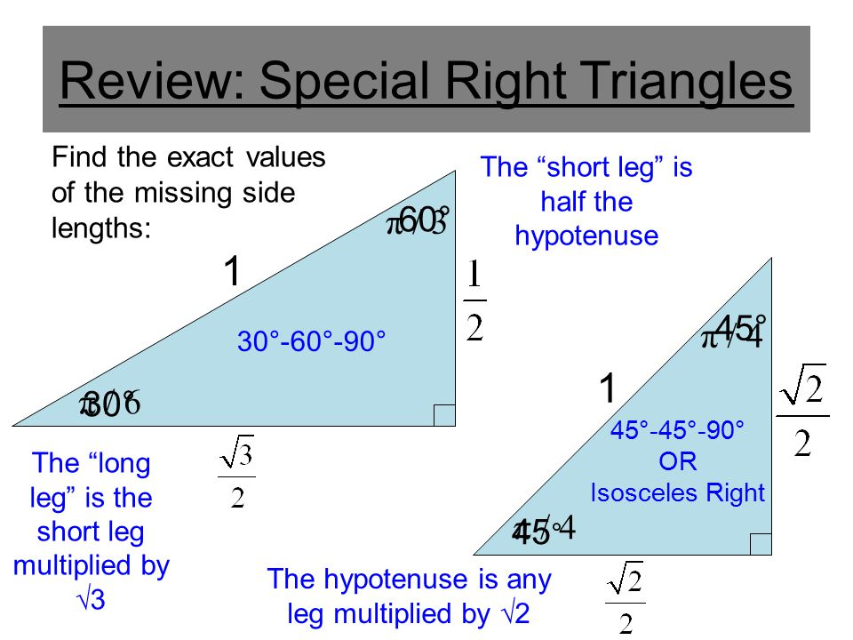 Finding Exact Values For Trigonometry Functions (Then Using those ...