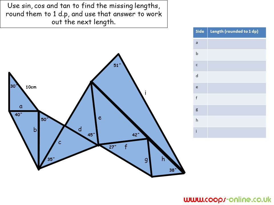 how to find missing lengths in a kite