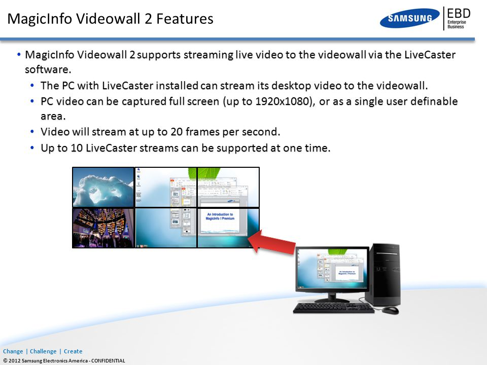 Introducing MagicInfo Videowall 2 - ppt download
