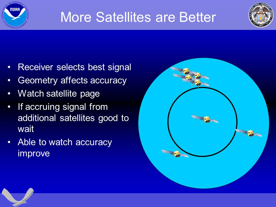 More Satellites are Better