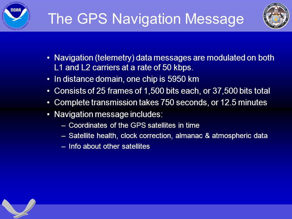 The GPS Navigation Message