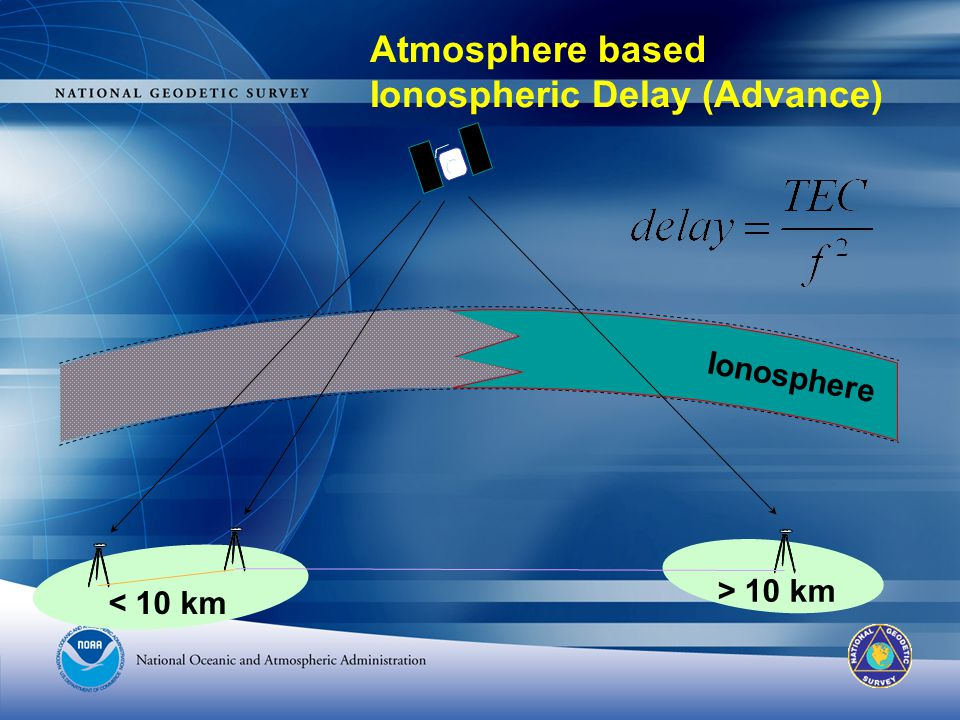 Atmosphere based Ionospheric Delay (Advance)