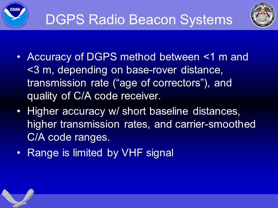 DGPS Radio Beacon Systems