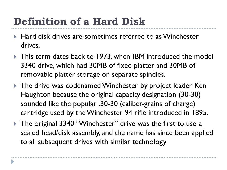 The Primary Hard Disk Has Always Been Designated With The