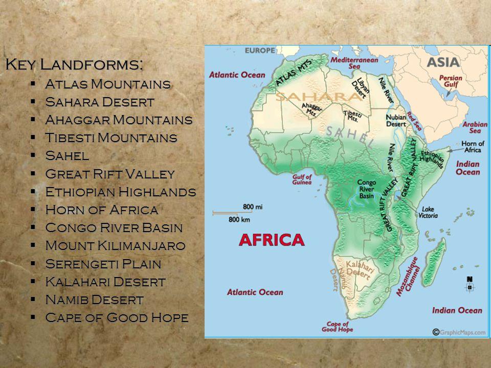 Geography of Africa. - ppt video online download on lake victoria world map, east african rift world map, congo basin world map, gondwana world map, appalachian mountain range world map, golan heights world map, pyrenees world map, rift valley on world map, red sea world map, mt. kilimanjaro world map, olduvai gorge world map, saint lawrence river world map, 3rd millennium bc world map, ethiopian highlands world map, serengeti world map, kalahari desert world map, niger river world map, erta ale world map, swahili coast world map, altai mountains world map,
